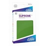 Протекторы Ultimate Guard, матовые зелёные