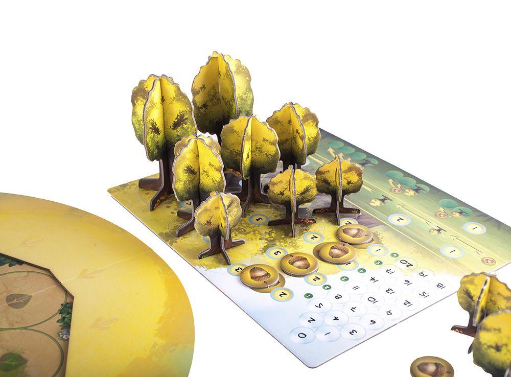 У каждого игрока свой тип деревьев. Настольная игра Фотосинтез (Photosynthesis)