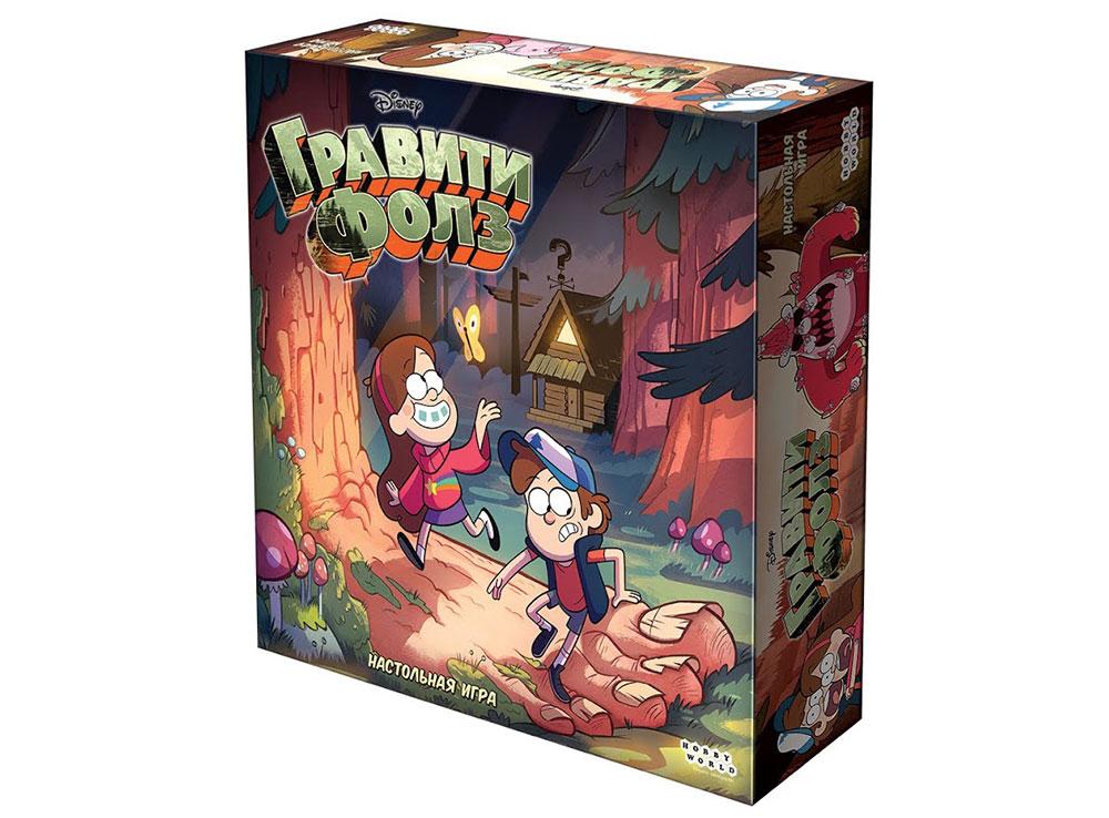 Коробка настольной игры Гравити Фолз