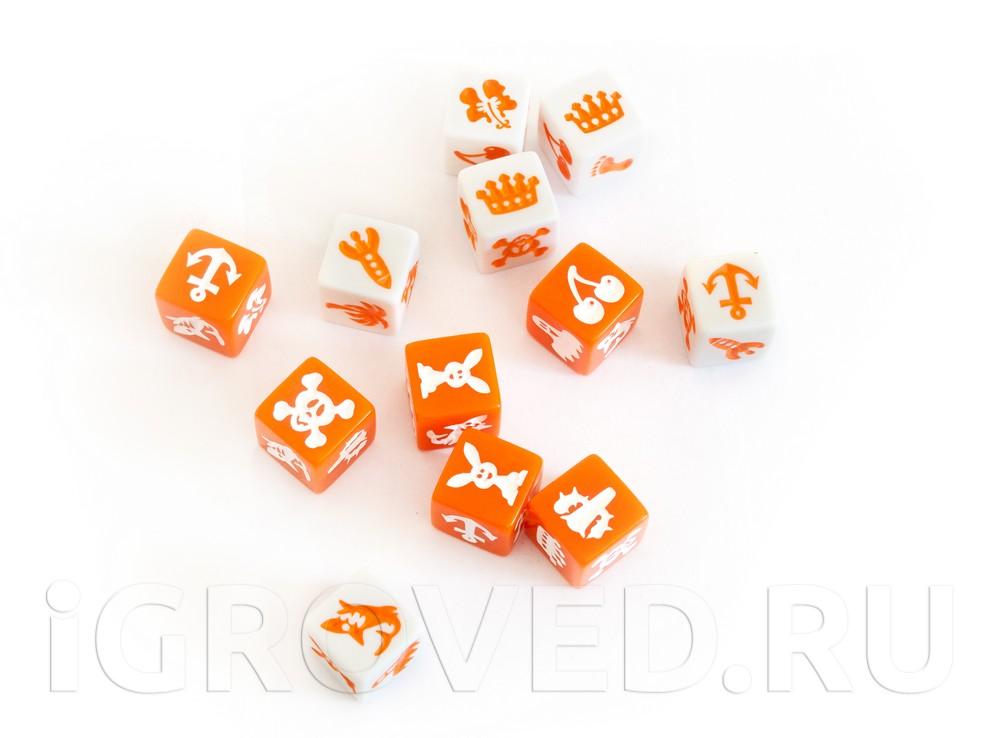 Кубики настольной игры Нада! (Nada)