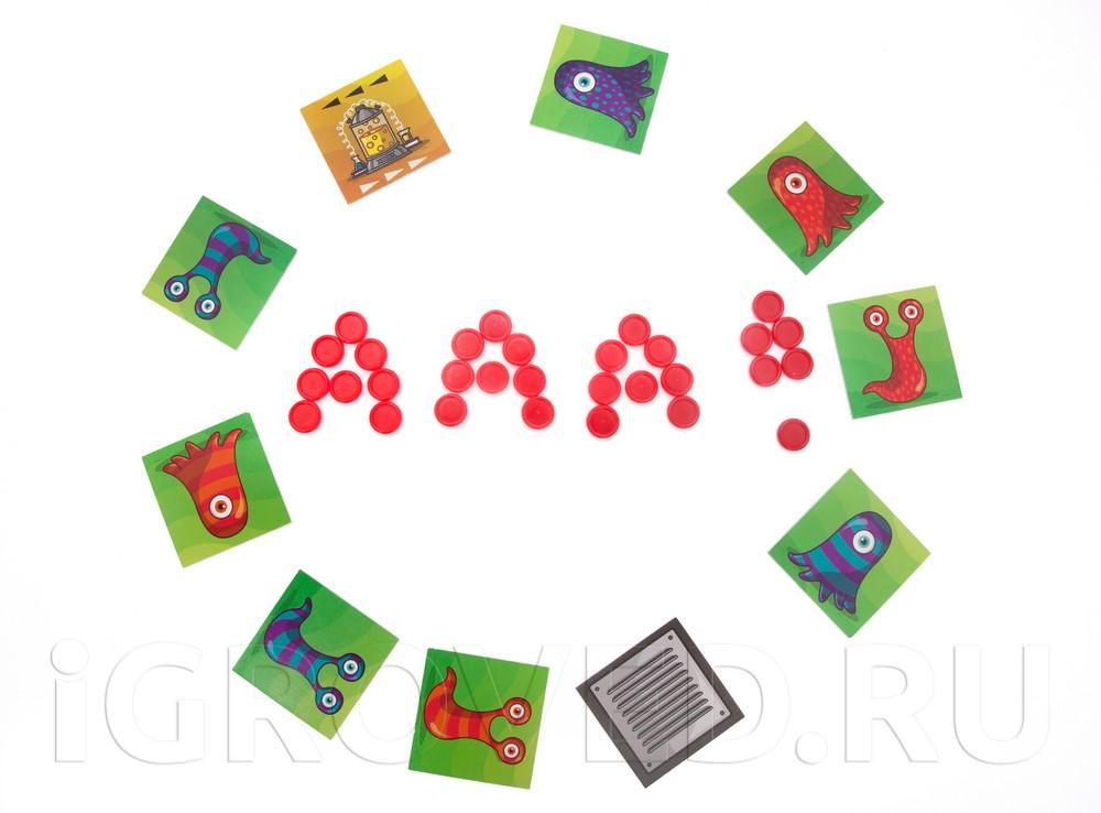 В настольную игру Паника в лаборатории (PanicLab) можно играть и с совсем маленькими детьми, убрав из стопки карточки комнат мутации и вентиляционных отверстий
