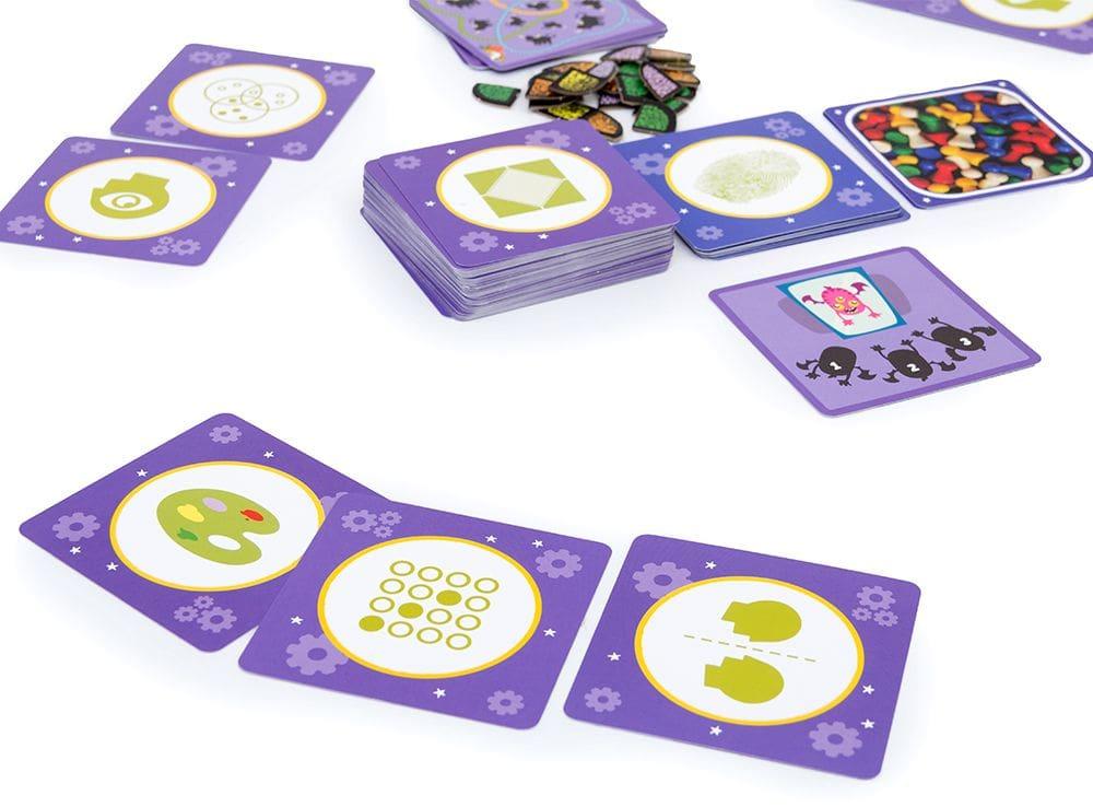 Игровой процесс настольной игры Кортекс 2 для детей