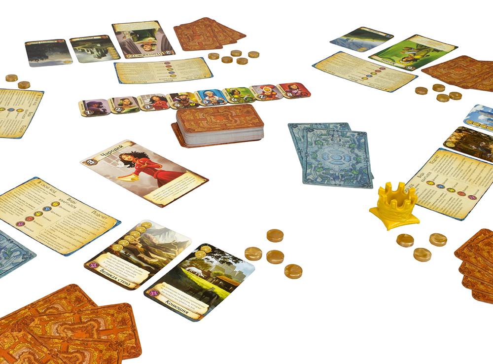 Игровой процесс настольной игры Цитадели Делюкс