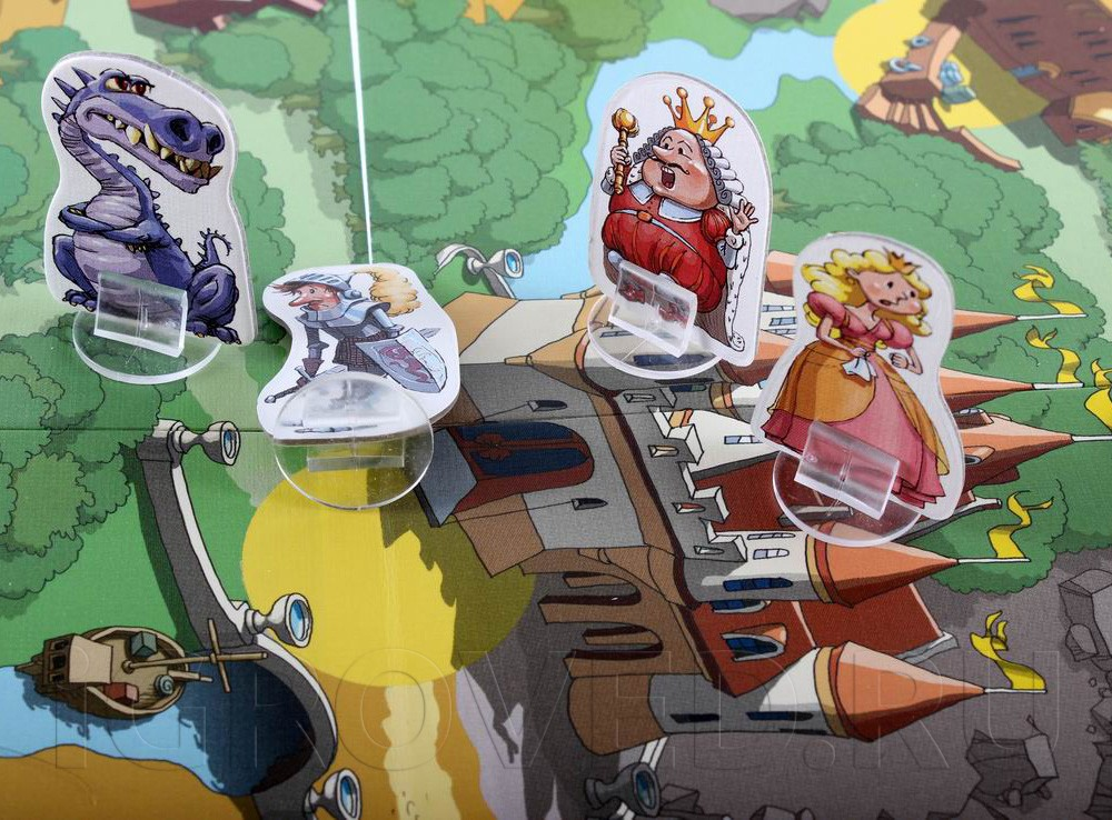 Очаровательные персонажи из разных сказок. Настольная игра Фабулантика