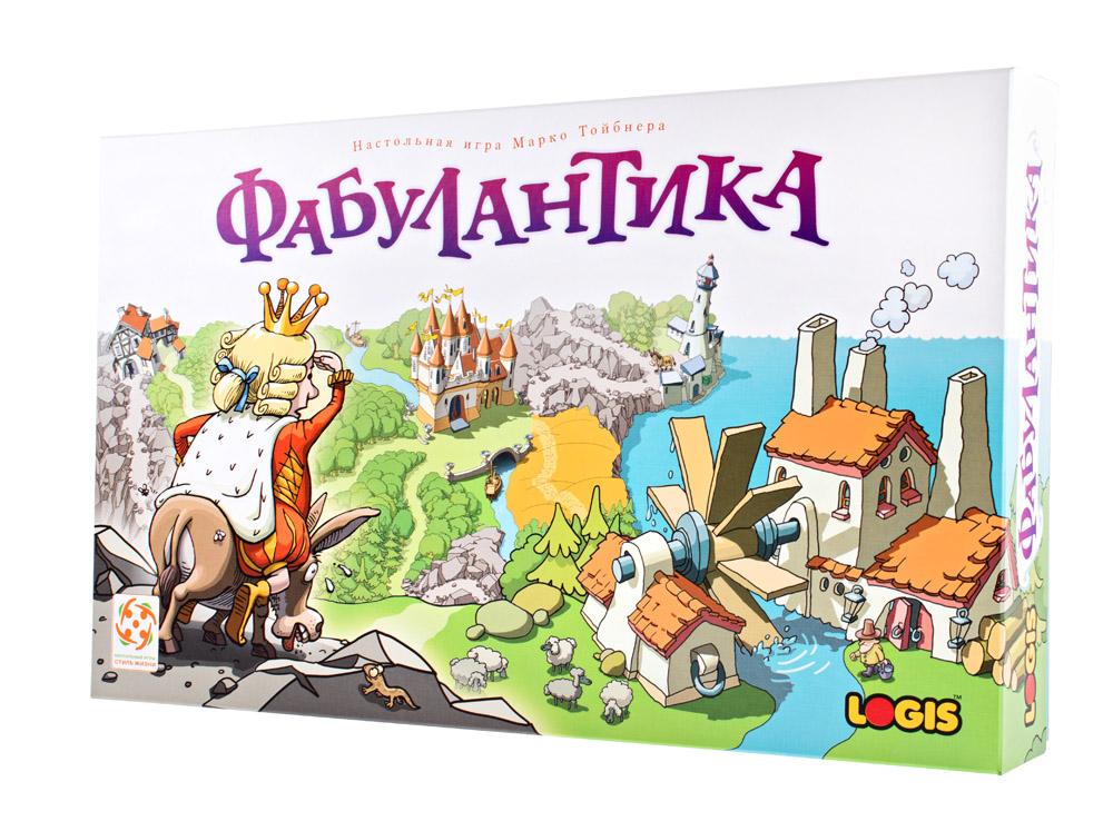 Коробка настольной игры Фабулантика