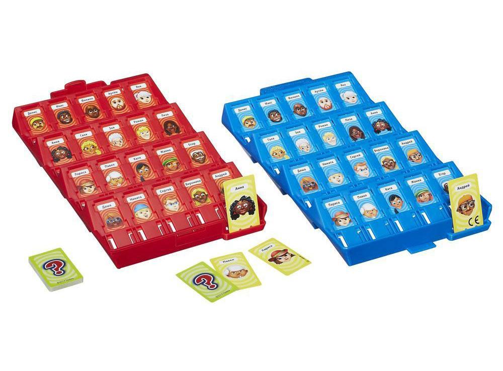 Компоненты настольной игры Угадай кто?