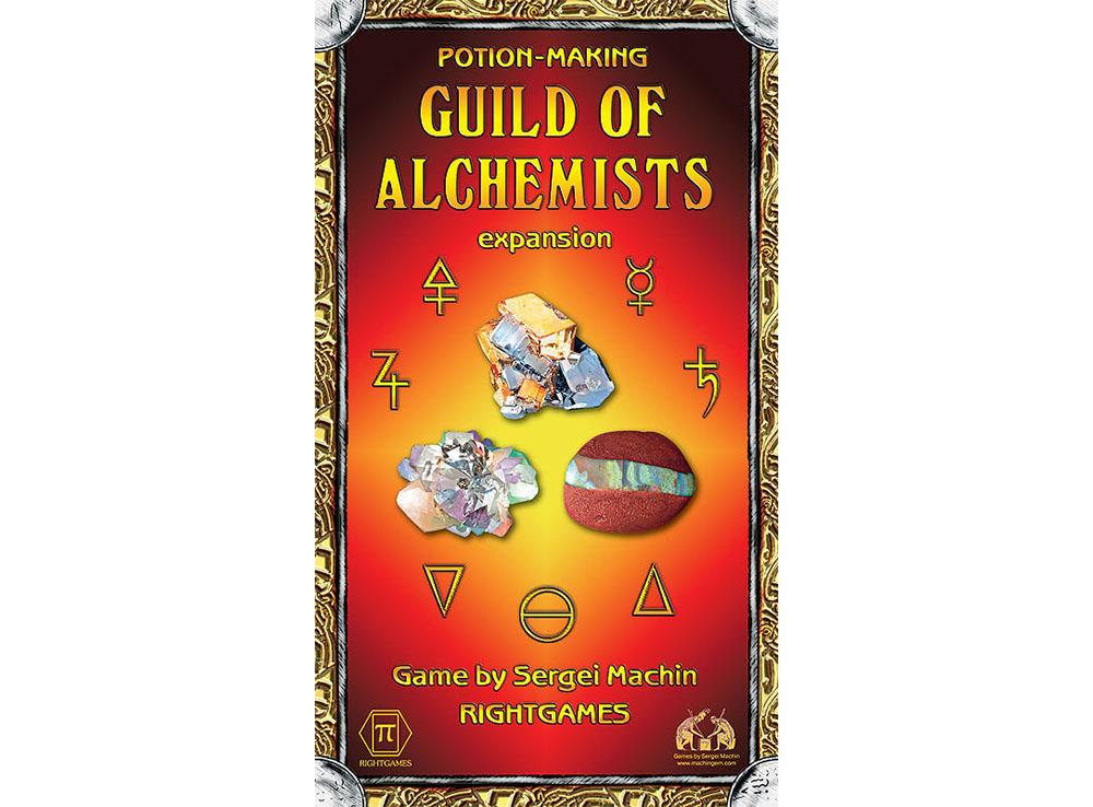 Коробка настольной игры Potion-making: Guild of Alсhemists