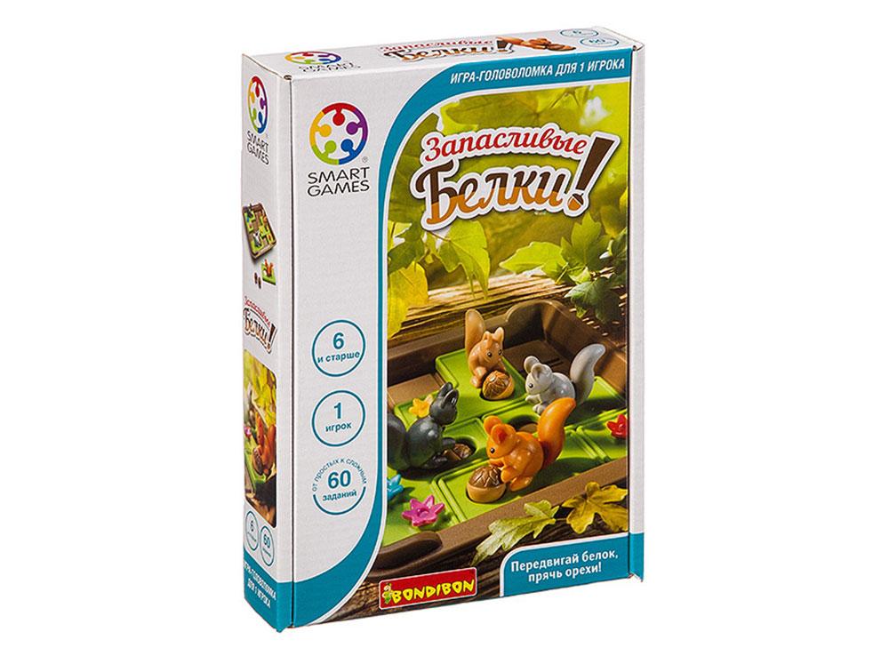 Коробка настольной игры-головоломки Запасливые белки
