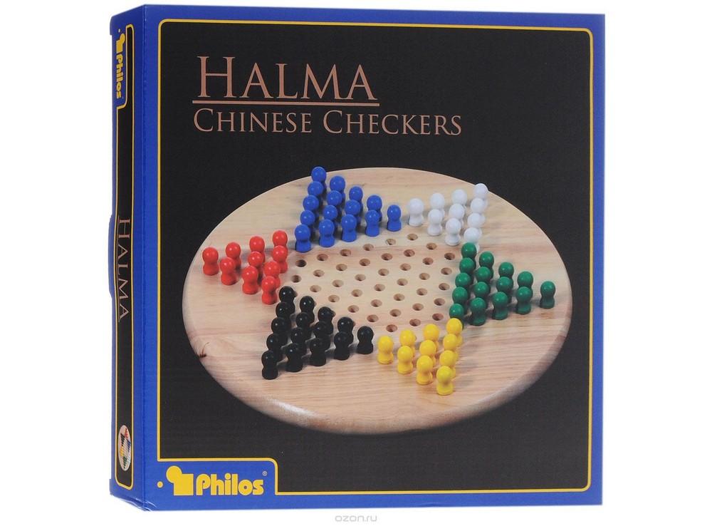Коробка настольной игры Китайские шашки (Halma или Chinese Checkers, Philos)