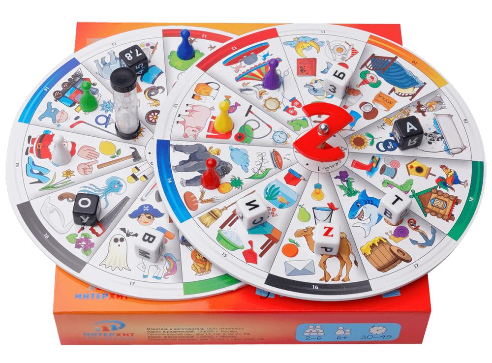 Компоненты настольной игры Называтор детский
