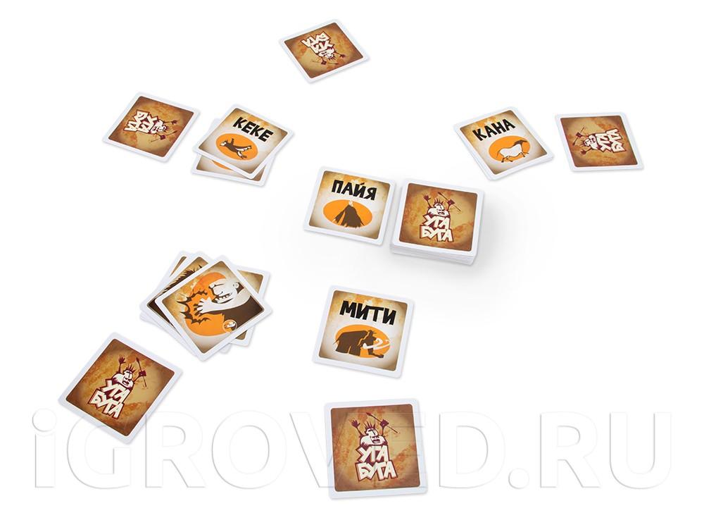 Игровой процесс настольной игры Уга Буга (Ouga Bouga)