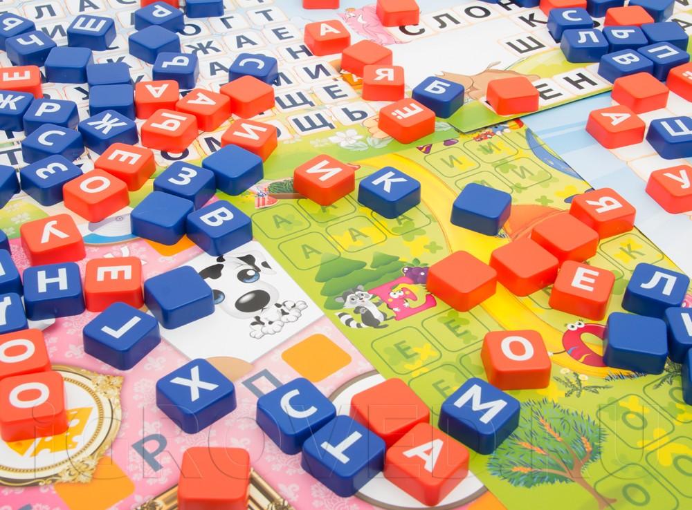 Эрудит Дружные буквы настольная игра для малышей