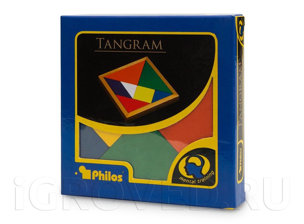 Коробка настольной игры Танграм (Tangram)