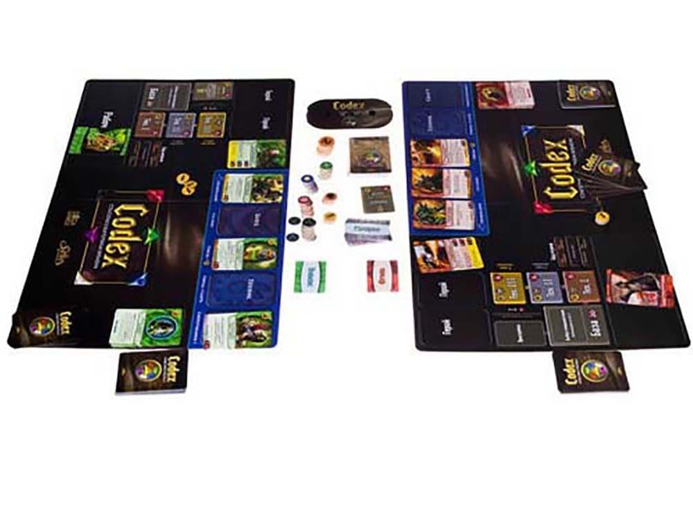 Компоненты настольной игры Codex (Кодекс). Стартовый набор