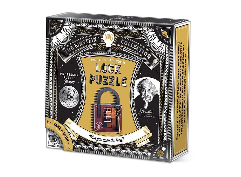 Коробка головоломки Замок-пазл (Lock Puzzle)