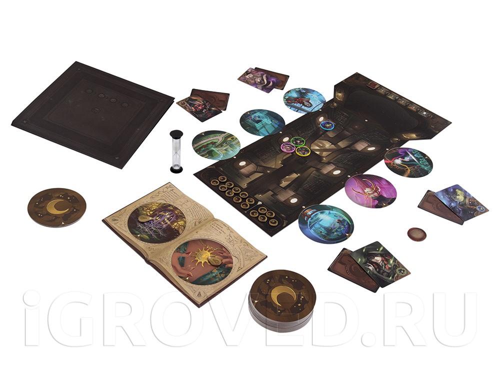 Игровой процесс настольной игры Обскурио (Obscurio)