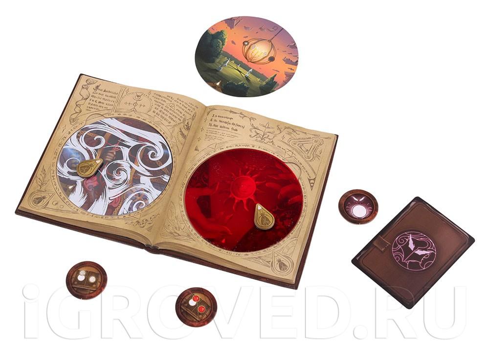 Компоненты настольной игры Обскурио (Obscurio)