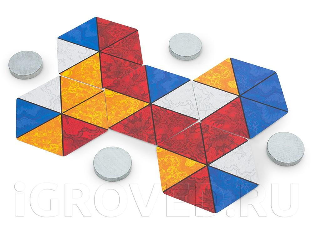 Компоненты настольной игры Гексоломка