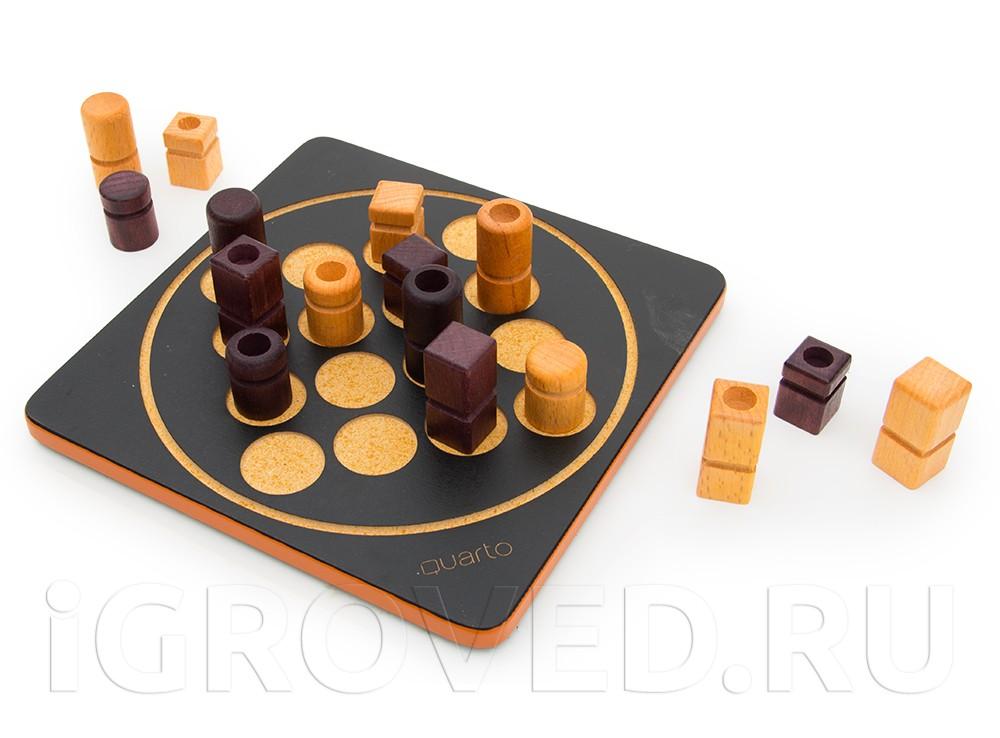 Игровой процесс настольной игры Кварто Мини (Quarto Mini)