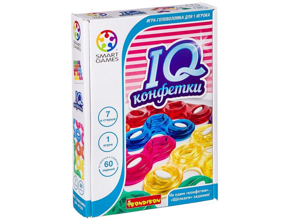 Коробка настольной игры-головоломки IQ-Конфетки