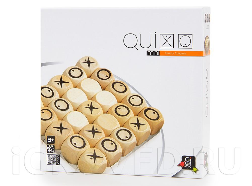 Коробка настольной игры Квиксо Мини (Quixo Mini)