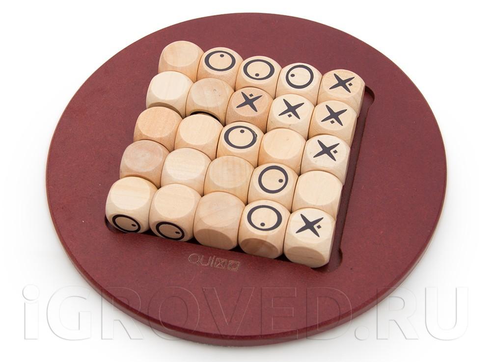 Игровой процесс настольной игры Квиксо Мини (Quixo Mini)