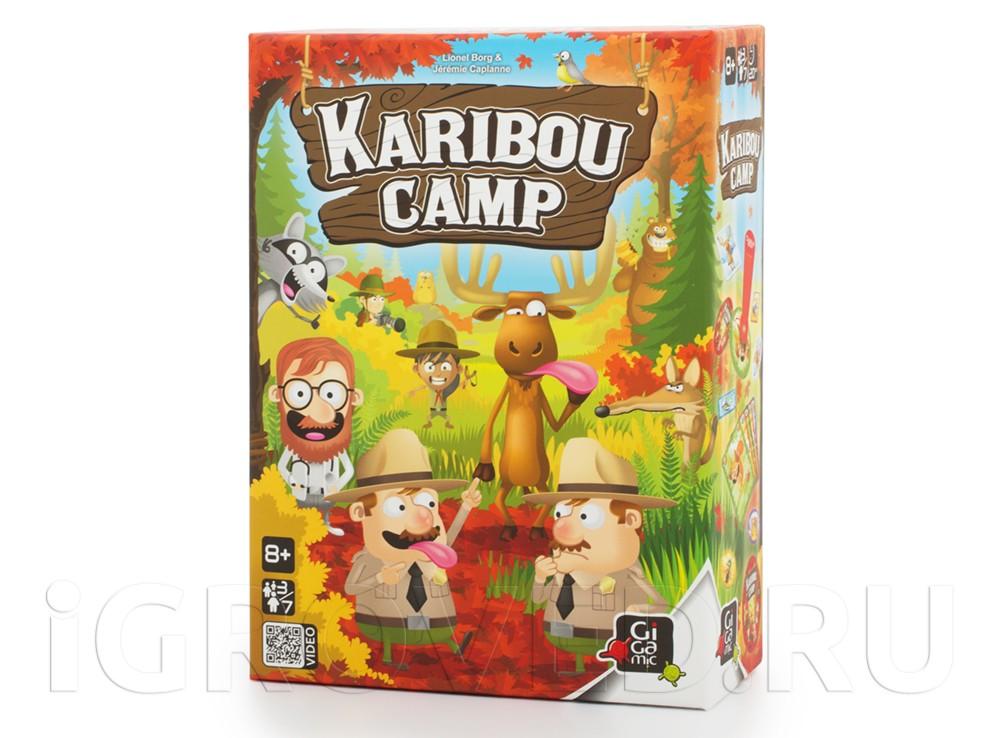 Коробка настольной игры Лагерь Карибу (Кaribou Camp)