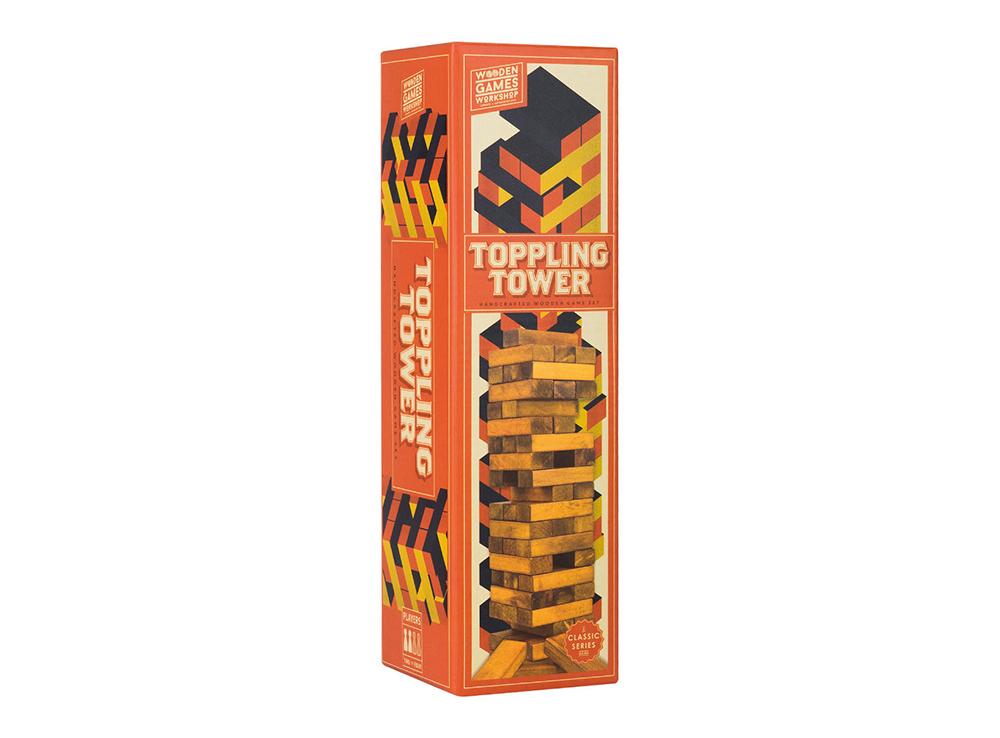 Коробка настольной игры Падающая башня